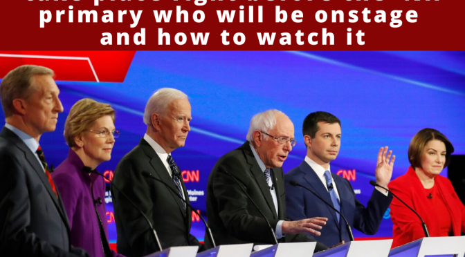 The next Democratic debate will take place right before the NH primary