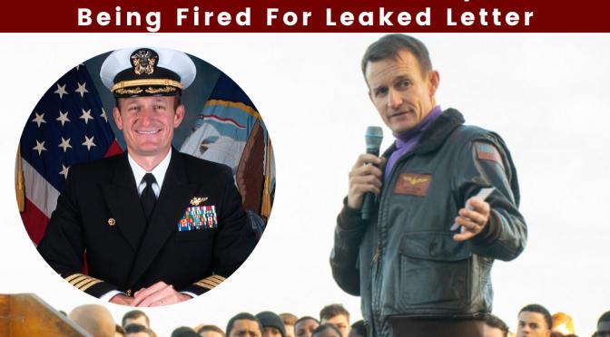 Navy Captain Brett Crozier Tests Positive for Coronavirus Days After Being Fired For Leaked Letter
