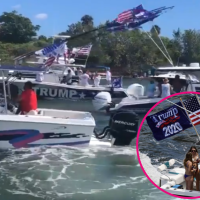Florida boaters throw boat parade in support of President Trump