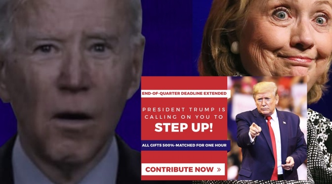 Trump's Website 404 Page Totally Trolls Joe Biden and Hillary In The Best Way Ever