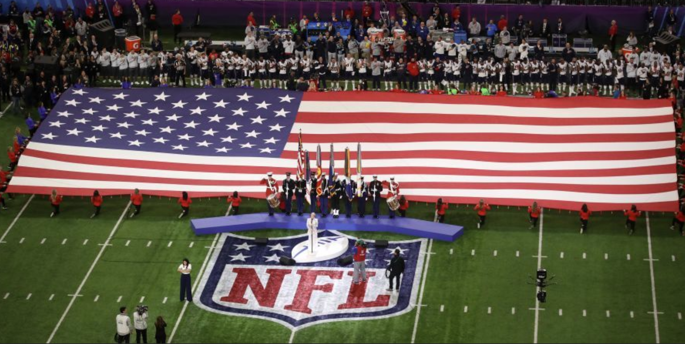 NFL will not hold live national anthem performances in 2020