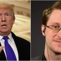 President Trump said he's considering a pardon for Edward Snowden