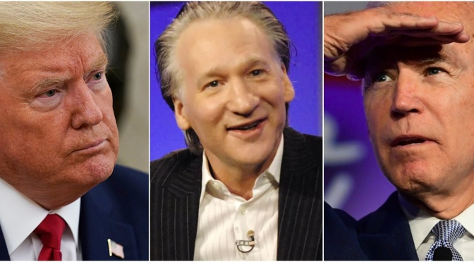 Maher says he's concerned Biden is not 'comfortably ahead' of Trump