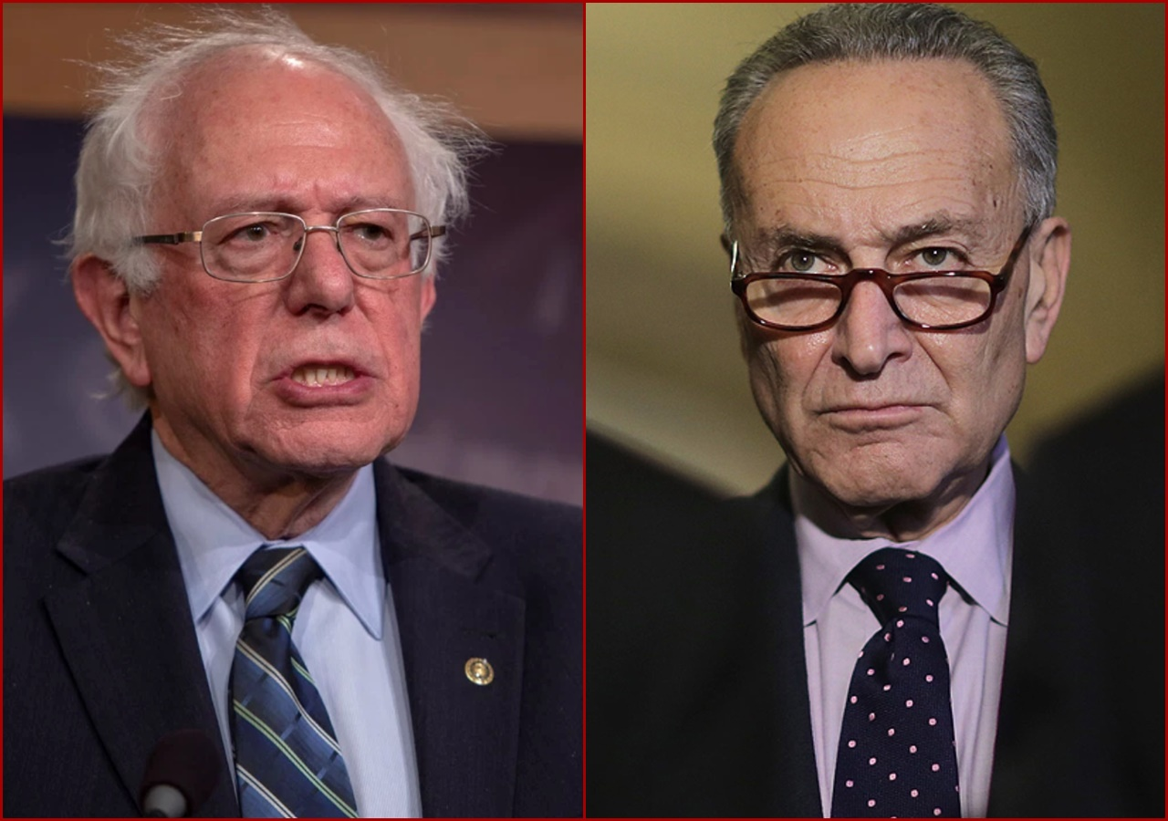 SENATOR Chuck Schumer says that he supports Bernie Sanders' call for a plan if President Donald Trump were to refuse to leave the White House