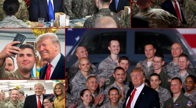 President Trump and an army of journalists debunked a dubious Atlantic magazine blog post claiming that Trump had disparaged the military